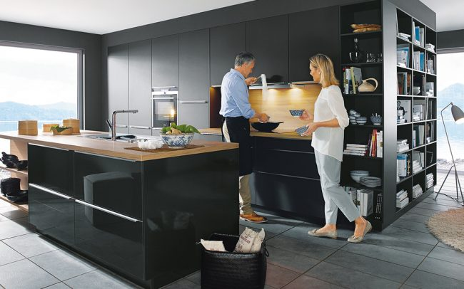 Schuller Glasline Kitchen Cardiff 01