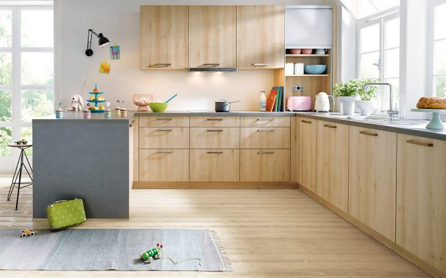 Schuller Bari Woodgrain Effect Kitchens
