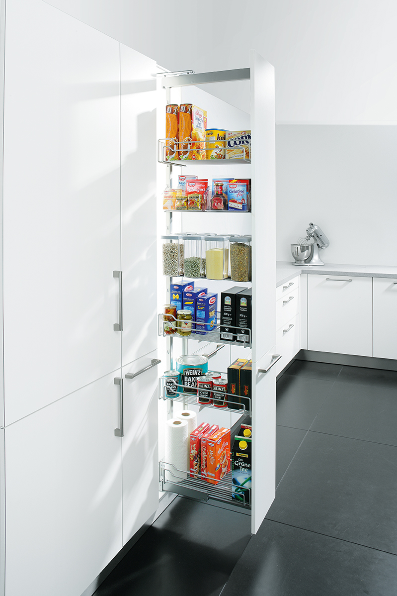 Kitchen storage solutions from schuller cabinet storage for 200mm wide kitchen wall unit