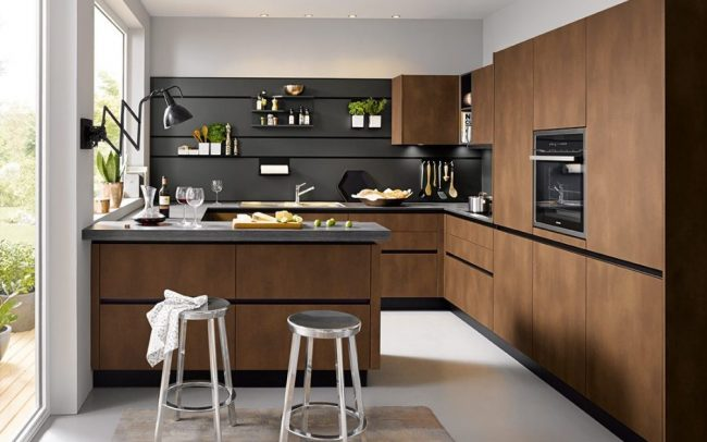 Schüller Targa Matt Kitchen - Handleless Design