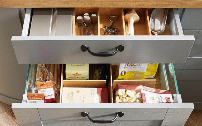 German Kitchens Cardiff - Storage Drawers