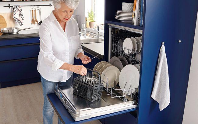 German Kitchens Cardiff - Raised Dishwasher Unit