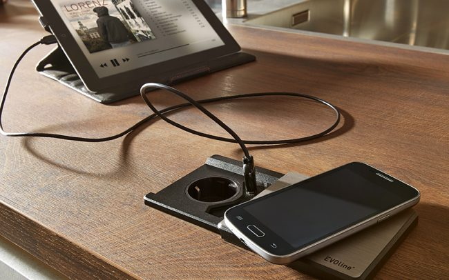 Schuller German Kitchen Cardiff - Wireless Phone Charger