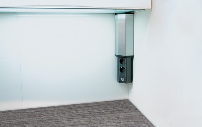 Schuller Kitchen Cardiff - Pull Down Socket with USB