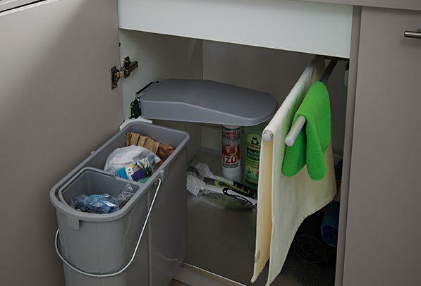 german kitchens cardiff - utility rooms - under sink bin