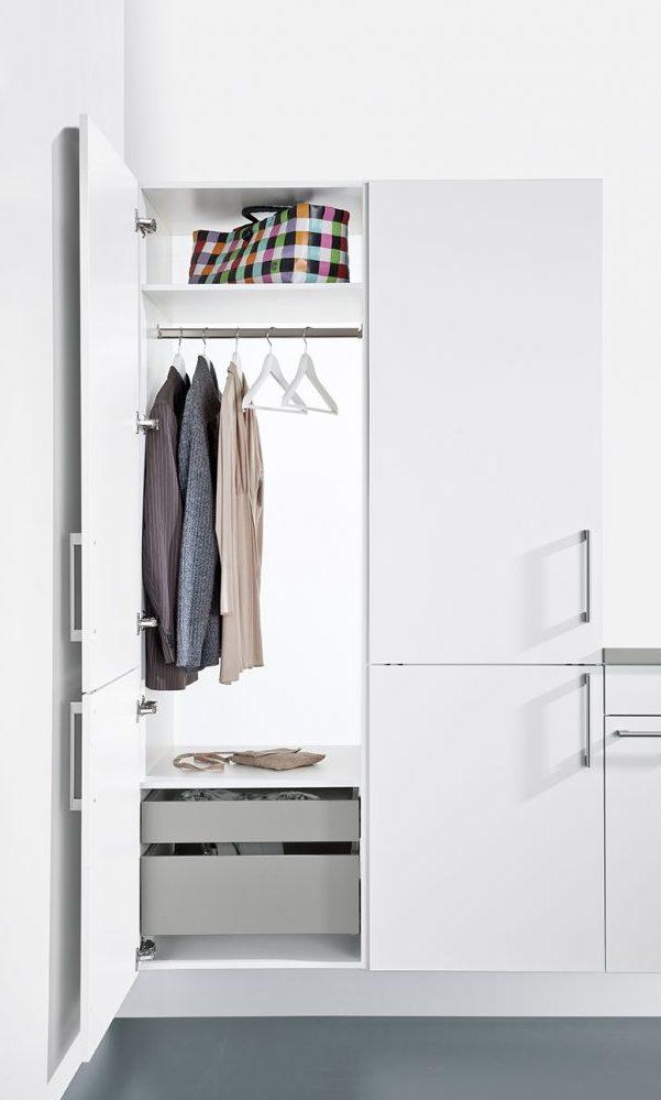 german kitchens cardiff - utility rooms - tall wardrobe unit
