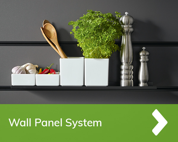 German Kitchens Cardiff - wall panel system