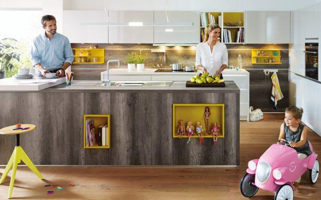 Schüller Fino Gloss Kitchens