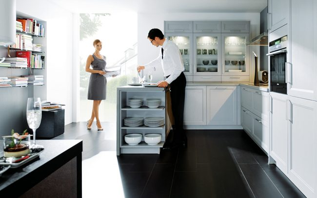 Schuller Finca Solid Ash Satin Kitchen