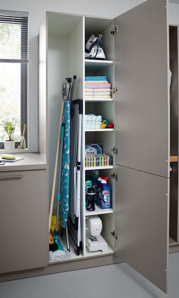 german kitchens cardiff - utility rooms - tall storage