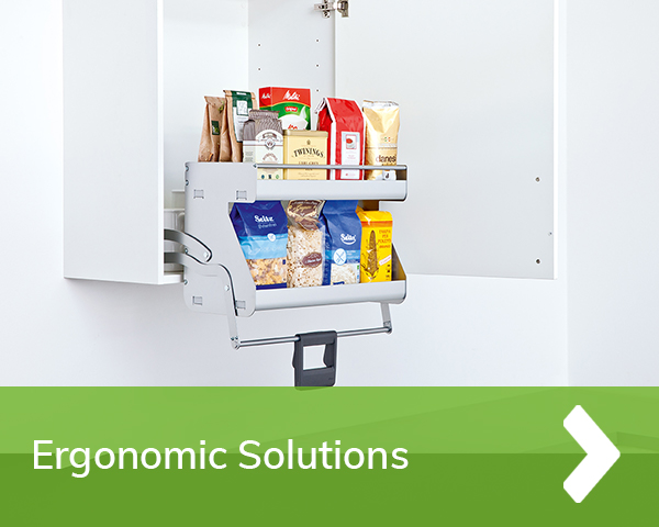 German Kitchens Cardiff - Ergonomic solutions