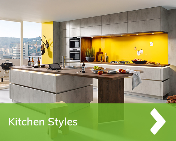 German Kitchens Cardiff - Grey Kitchens - Styles