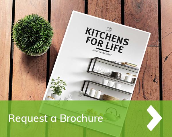 German Matt Kitchen Cardiff - request a free kitchen brochure